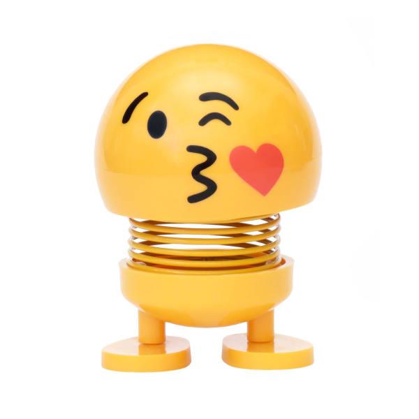 عروسک فنری ایموجی بوسیدن (Kiss emoji)