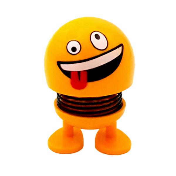 عروسک فنری ایموجی دلقک (zany face)