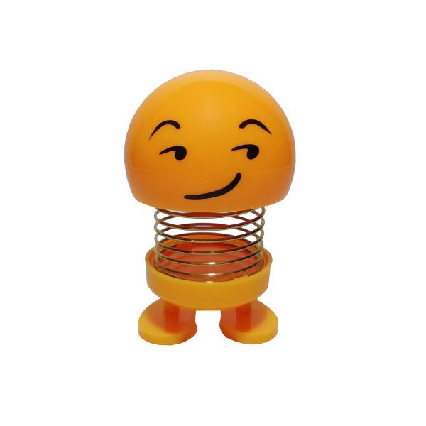 عروسک فنری ایموجی پوزخند (Smirking Face)
