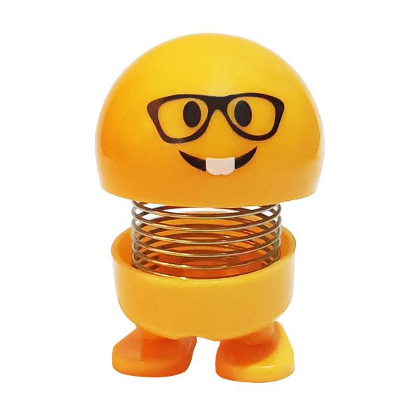 عروسک فنری ایموجی (Nice guy-یا-bookworm)