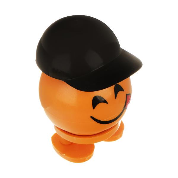 عروسک فنری طرح ایموجی کلاه دار خوشمزه (yummy face)