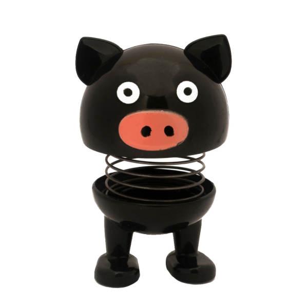عروسک فنری طرح خوک