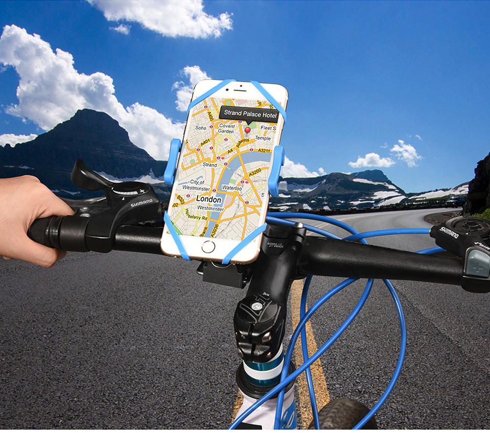 پایه نگهدارنده موبایل قابل نصب روی فرمان دوچرخه