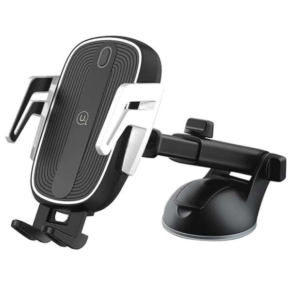 پایه نگهدارنده و شارژر بی سیم گوشی موبایل یوسمز مدل US-CD101