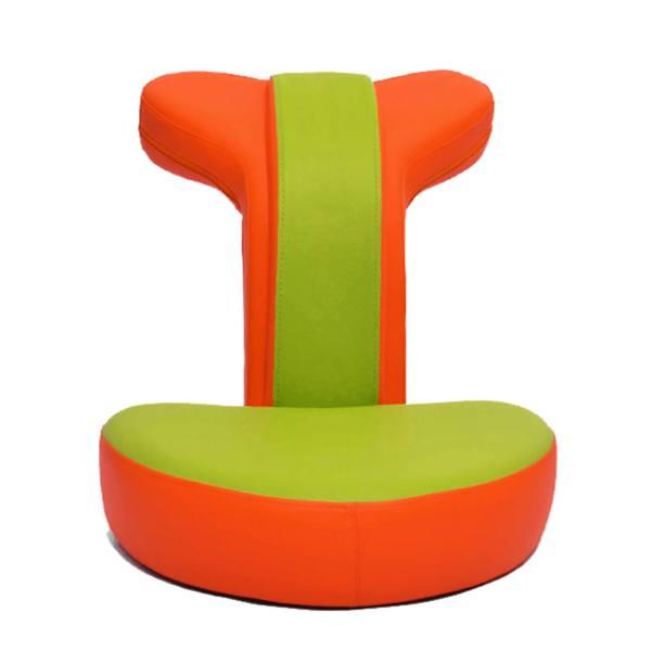 صندلی گیمینگ رادسیستم مدل سبز G010 چرمی