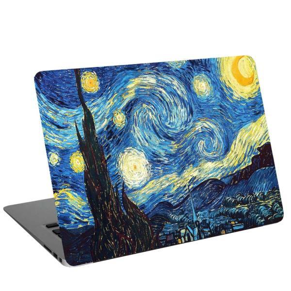 استیکر لپ تاپ طرح Vincent Van Gogh کد