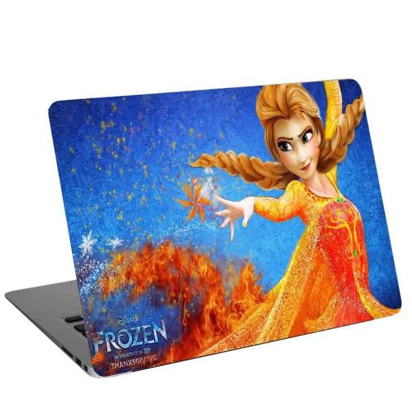 استیکر لپ تاپ دخترانه طرح frozen-15کد