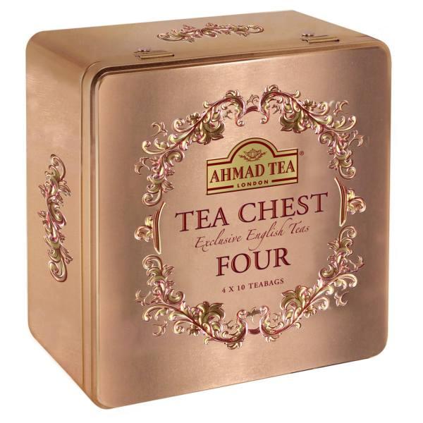 چای کیسه ای چای احمد مدل Tea Chest
