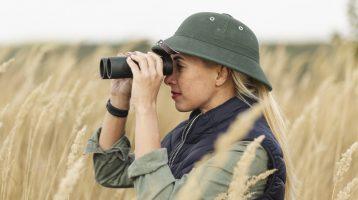 دوربین شکاری دوچشمی - لیست ابزار