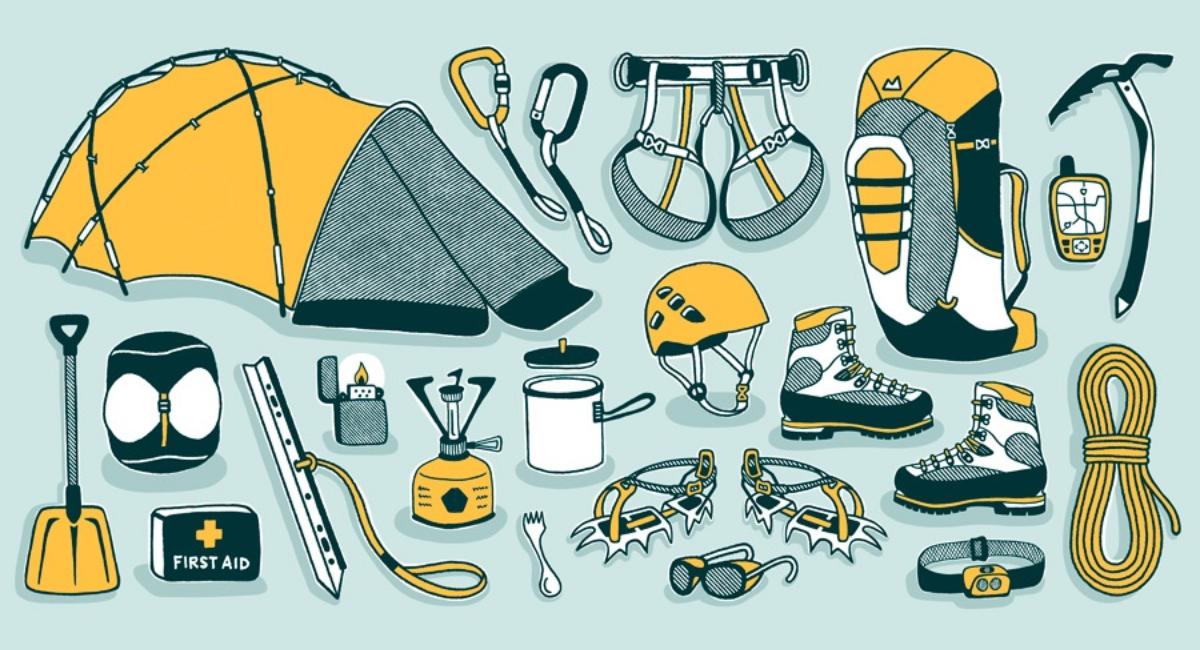 راهنمای خرید چک لیست لوازم کوهنوردی - لیست ابزار