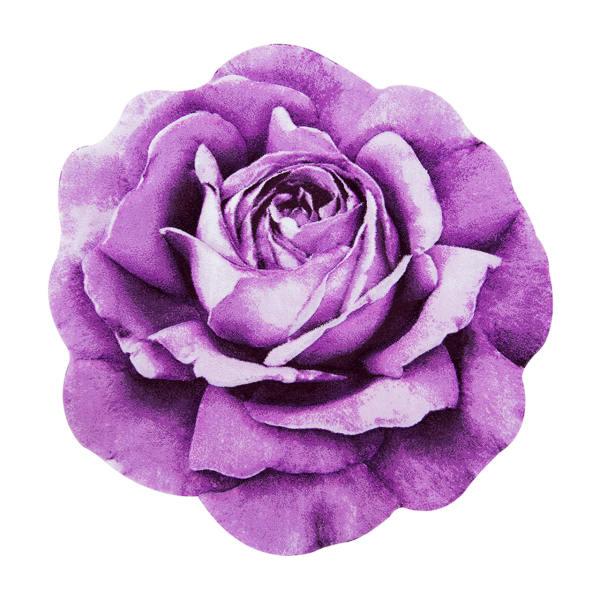 فرش سه بعدی زرباف مدل گل رز مینیاتوری