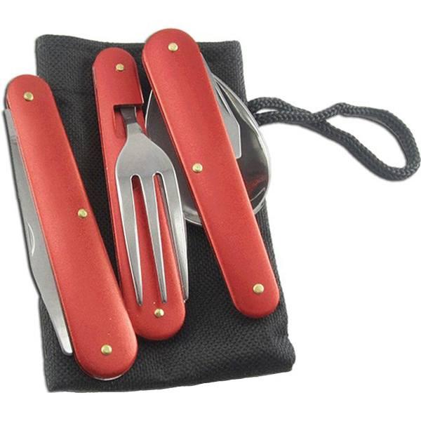لوازم کوهنوردی - ست قاشق، چنگال و چاقوی سفری