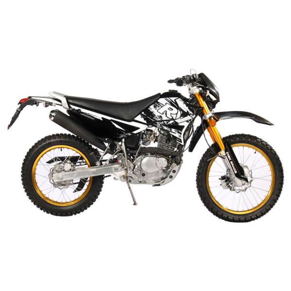 موتورسیکلت تریل روان مدل کیو ام1
