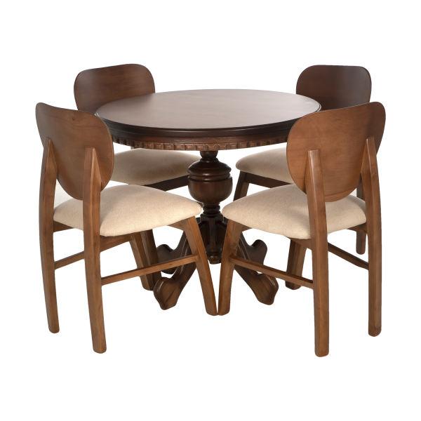 میز و صندلی ناهارخوری مدل فیلی کد 10013