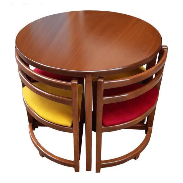 میز و صندلی ناهارخوری 4 نفره مدل Ro-005