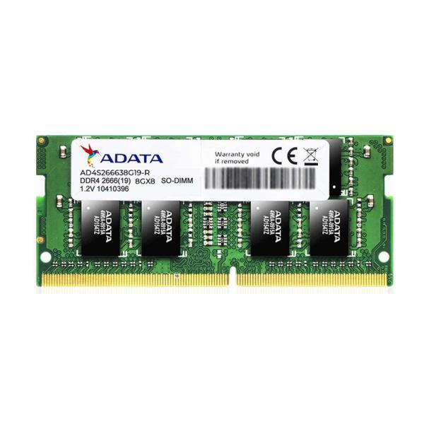 رم لپ تاپ DDR4 تک کاناله 2666 مگاهرتز CL19 ای دیتا مدل MN-RL01 ظرفیت 8 گیگابایت